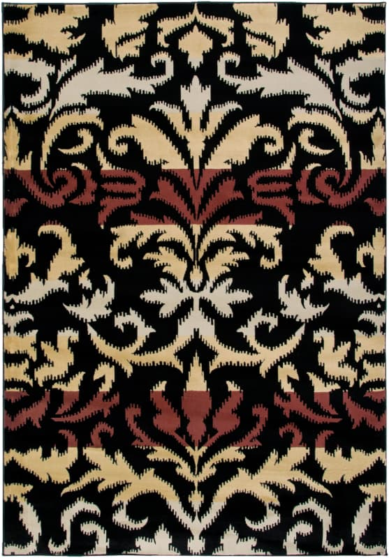 Rizzy Home BS3575 Bayside Power Loomed Polypropylene Rug Beige 9 1/4 x