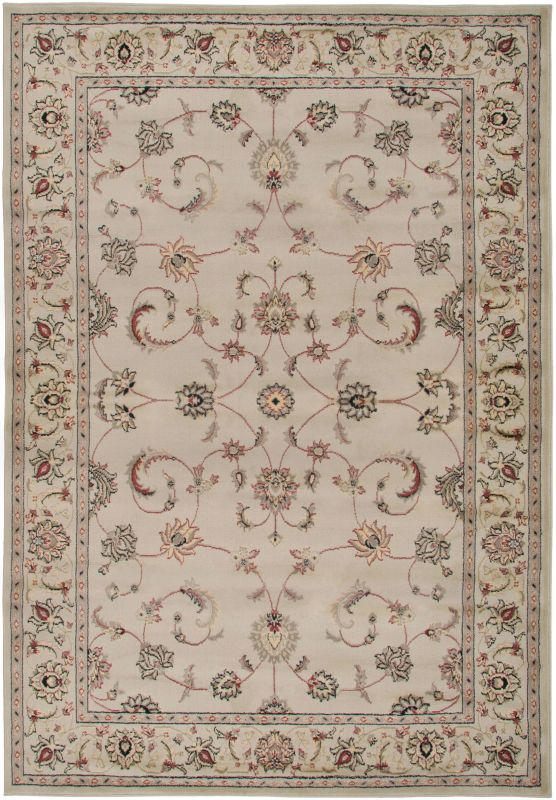Rizzy Home BS3580 Bayside Power Loomed Polypropylene Rug Ivory 6 1/2 x