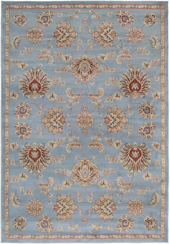 Rizzy Home BS3582 Bayside Power Loomed Polypropylene Rug Gray 5 1/4 x
