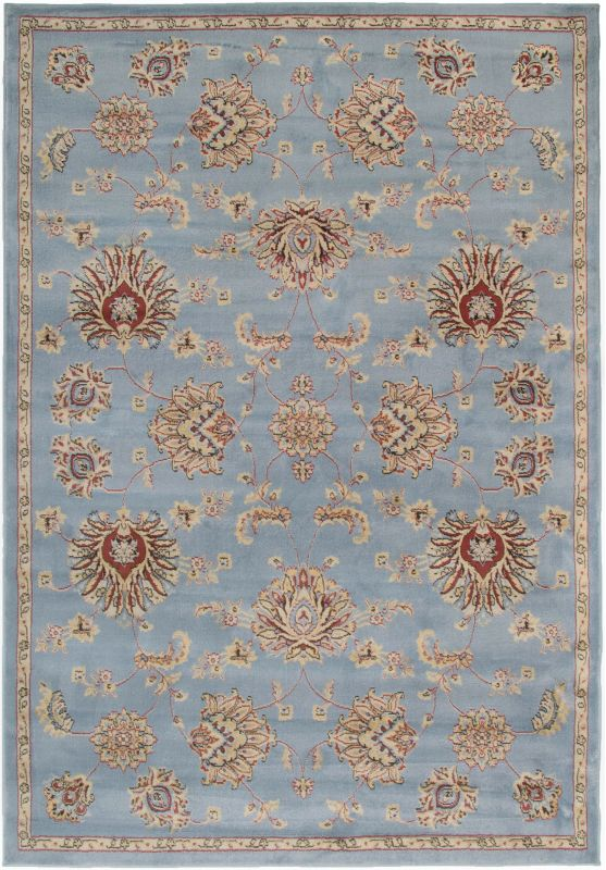 Rizzy Home BS3582 Bayside Power Loomed Polypropylene Rug Gray 9 1/4 x