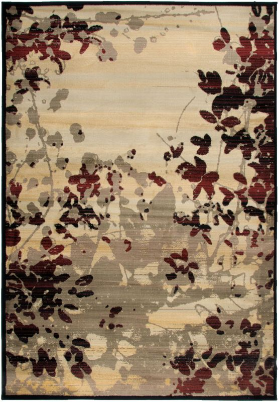 Rizzy Home BS3584 Bayside Power Loomed Polypropylene Rug Beige 9 1/4 x