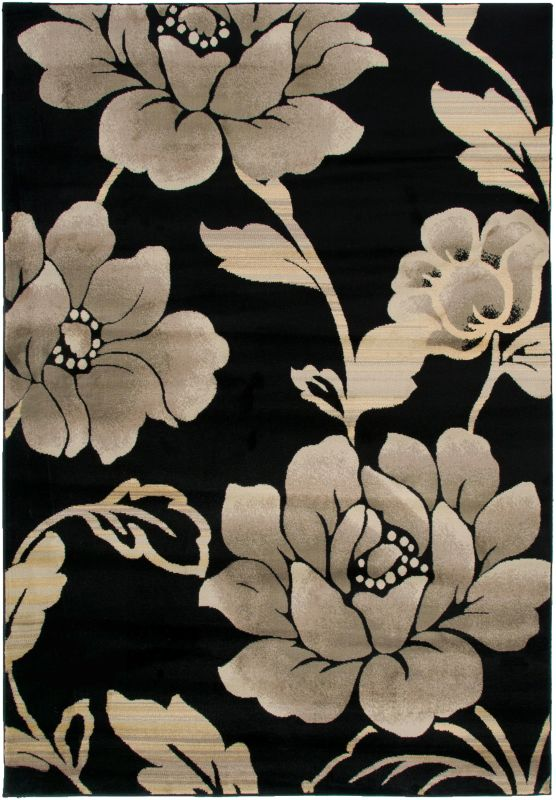 Rizzy Home BS3588 Bayside Power Loomed Polypropylene Rug Black 2 1/4 x Sale $54.00 ITEM: bci2616352 ID#:BYSBS358800062377 UPC: 844353816433 :