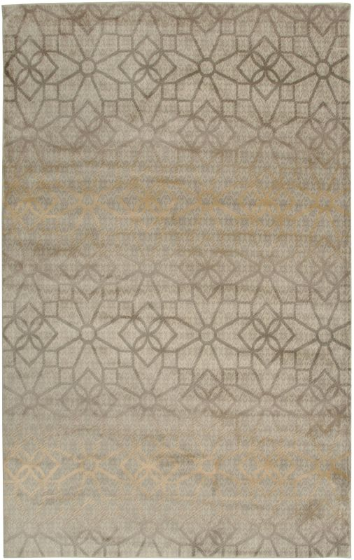 Rizzy Home BS3589 Bayside Power Loomed Polypropylene Rug Ivory 6 1/2 x