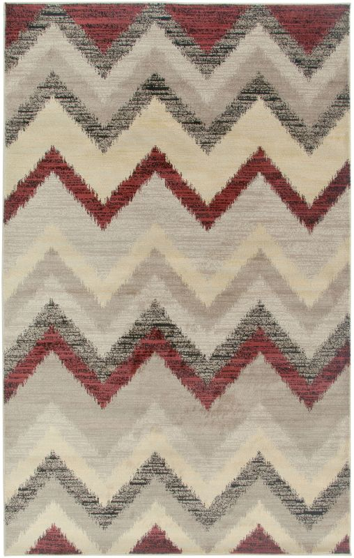 Rizzy Home BS3593 Bayside Power Loomed Polypropylene Rug Beige 5 1/4 x