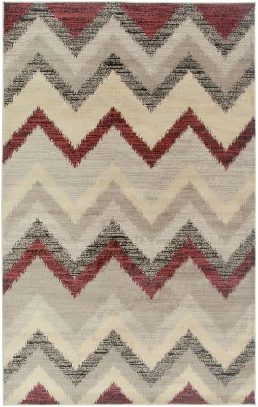 Rizzy Home BS3593 Bayside Power Loomed Polypropylene Rug Beige 6 1/2 x
