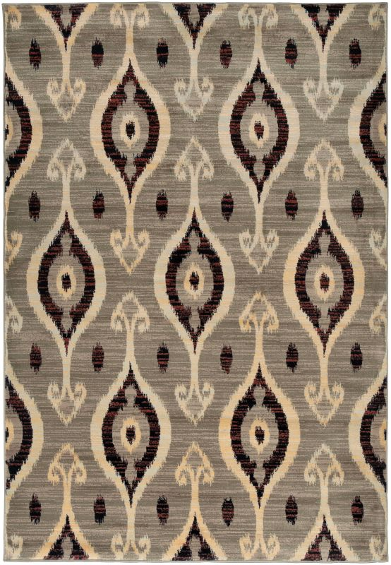 Rizzy Home BS3686 Bayside Power Loomed Polypropylene Rug Beige 6 1/2 x
