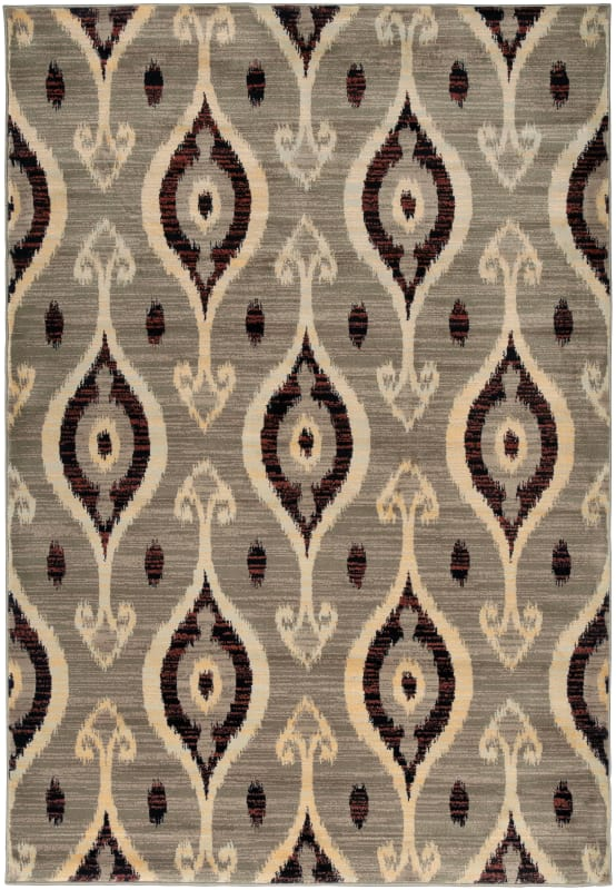 Rizzy Home BS3686 Bayside Power Loomed Polypropylene Rug Beige 9 1/4 x
