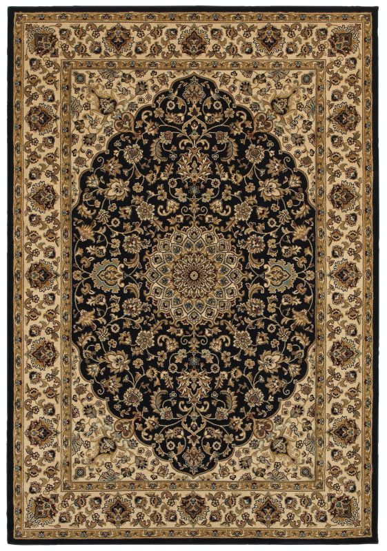 Rizzy Home CH4195 Chateau Power Loomed Polypropylene Rug Blue 3 1/4 x