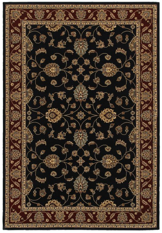 Rizzy Home CH4219 Chateau Power Loomed Polypropylene Rug Blue 6 1/2 x
