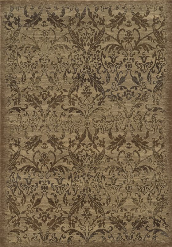 Rizzy Home CH4435 Chateau Power Loomed Polypropylene Rug Ivory 5 1/4 x