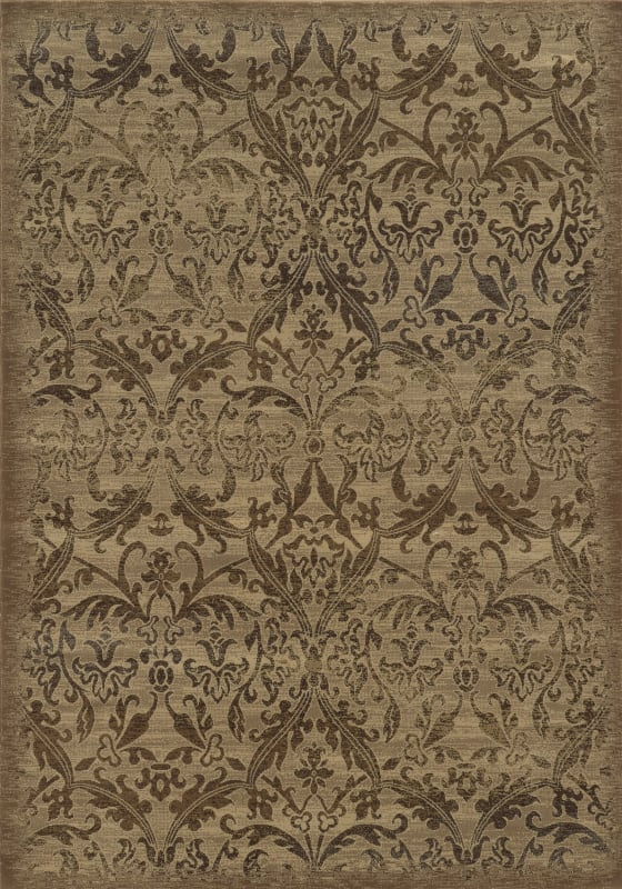 Rizzy Home CH4435 Chateau Power Loomed Polypropylene Rug Ivory 6 1/2 x