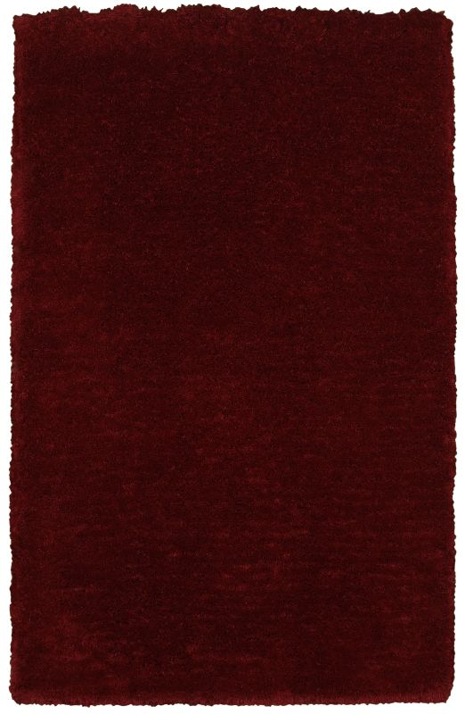 Rizzy Home CO8362 Commons Hand-Tufted Polyester Rug Burgundy 3 1/2 x 5