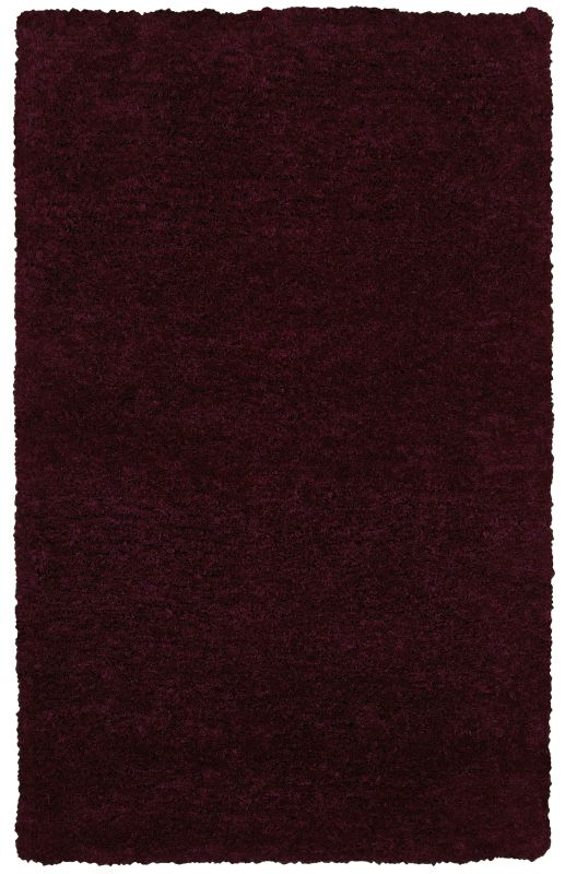 Rizzy Home CO8366 Commons Hand-Tufted Polyester Rug Plum 5 x 8 Home