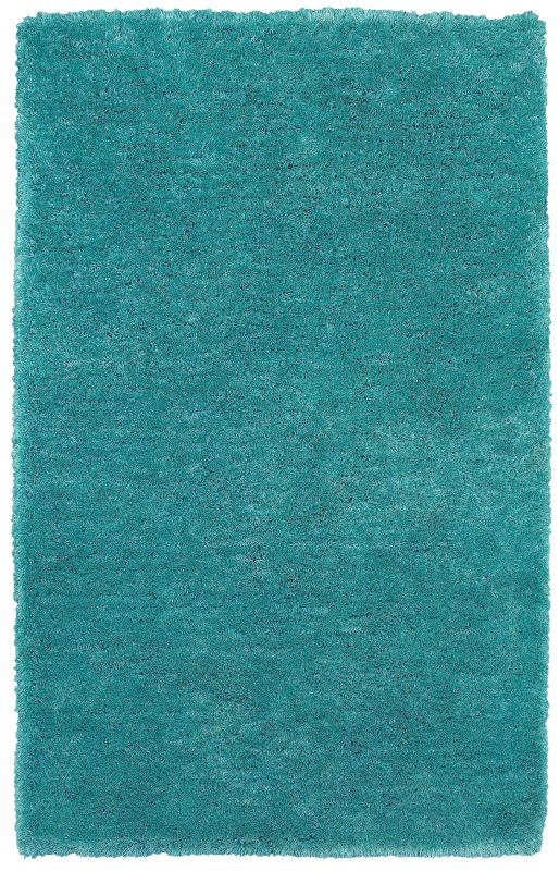 Rizzy Home CO8369 Commons Hand-Tufted Polyester Rug Sky Blue 3 1/2 x 5