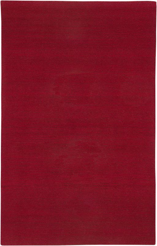 Rizzy Home CT1362 Country Hand-Tufted New Zealand Wool Rug Red 2 1/2 x