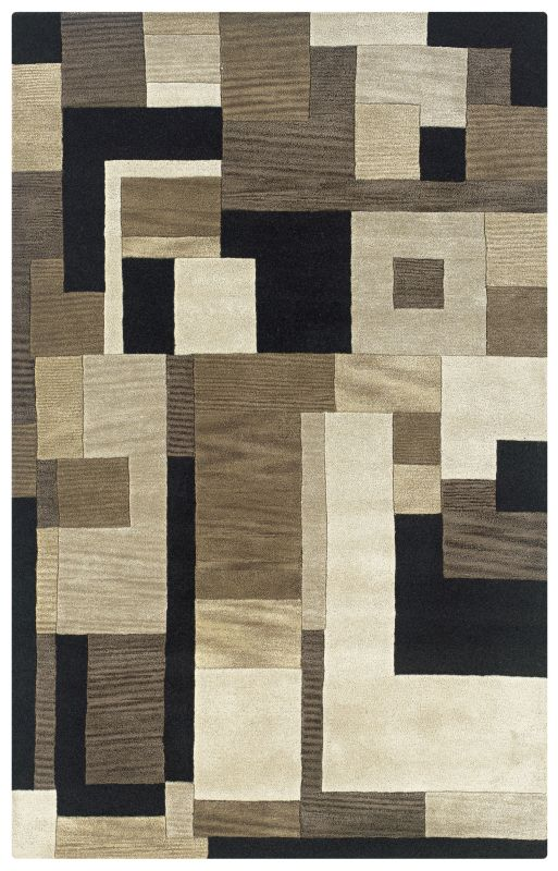 Rizzy Home CF0786 Craft Hand-Tufted Wool Rug Black 5 x 8 Home Decor Sale $297.00 ITEM: bci2617752 ID#:CRACF078600060508 UPC: 844353041231 :
