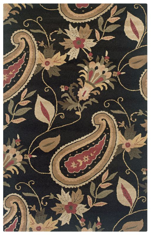 Rizzy Home DT0920 Destiny Hand-Tufted Wool Rug Black 2 x 3 Home Decor Sale $79.00 ITEM: bci2618005 ID#:DSTDT092000060203 UPC: 844353051452 :