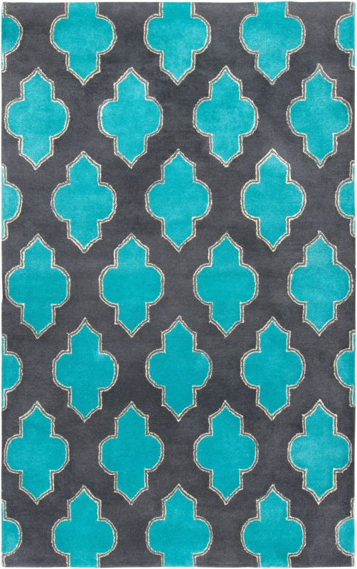 Rizzy Home FN2209 Fusion Hand-Tufted New Zealand Wool Rug Gray 2 x 3 Sale $69.00 ITEM: bci2618085 ID#:FUSFN220900330203 UPC: 844353250190 :