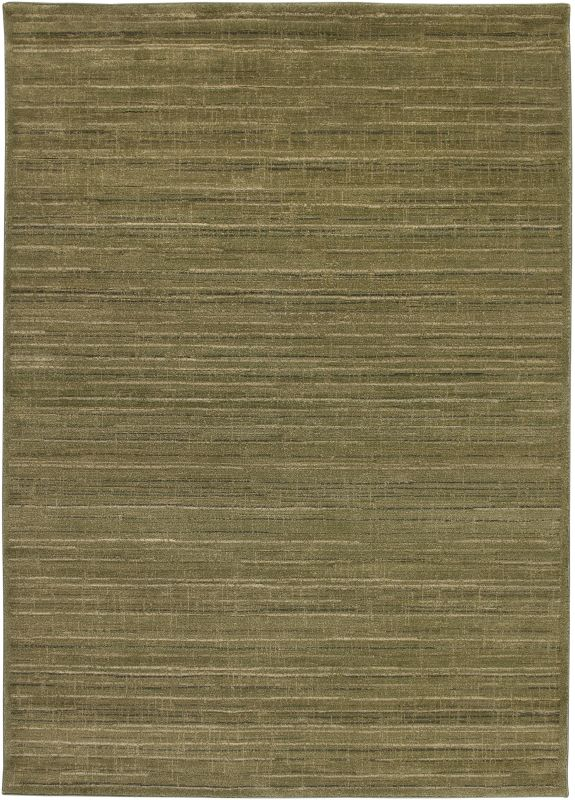 Rizzy Home GA3108 Galleria Power Loomed Polypropylene Rug Green 2 1/4