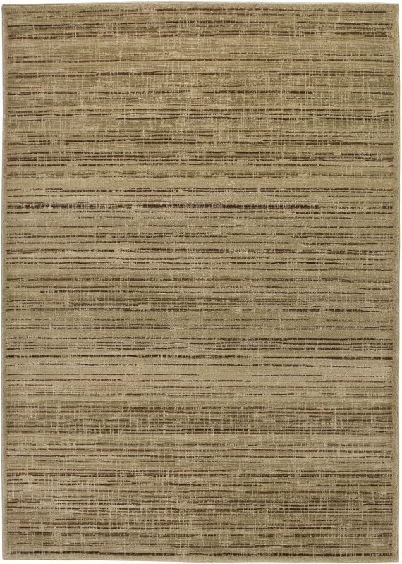 Rizzy Home GA3122 Galleria Power Loomed Polypropylene Rug Gold 2 1/4 x