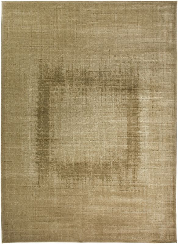 Rizzy Home GA3185 Galleria Power Loomed Polypropylene Rug Cream 4 x 5