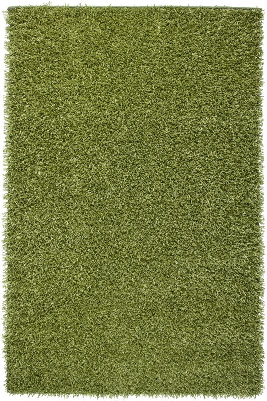Rizzy Home KM1508 Kempton Hand-Tufted Polyester Rug Lime 5 x 7 Home