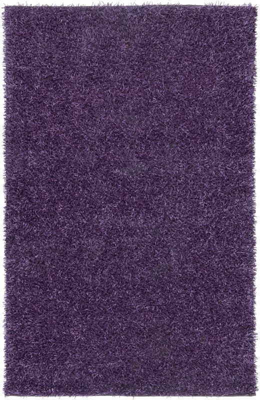 Rizzy Home KM1509 Kempton Hand-Tufted Polyester Rug Plum 5 x 7 Home
