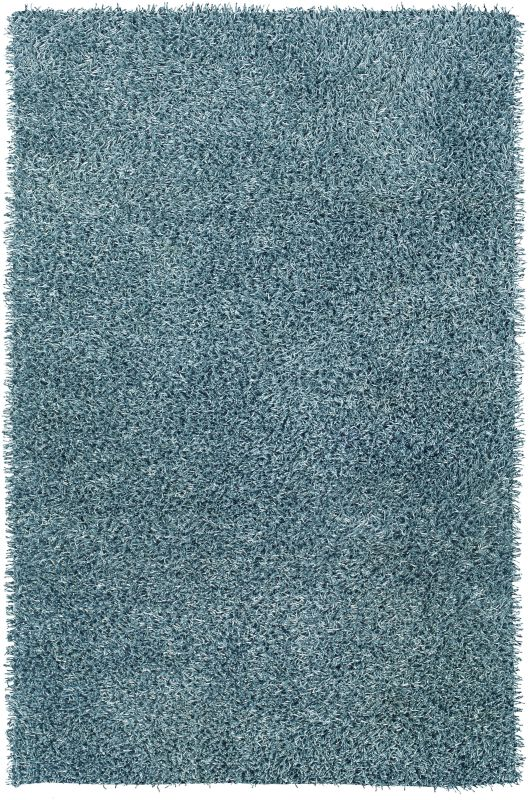 Rizzy Home KM1510 Kempton Hand-Tufted Polyester Rug Baby Blue 8 x 10