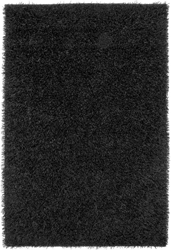 Rizzy Home KM1593 Kempton Hand-Tufted Polyester Rug Black 5 x 7 Home