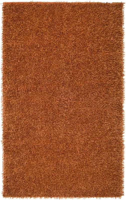 Rizzy Home KM2309 Kempton Hand-Tufted Polyester Rug Orange 8 x 10 Home
