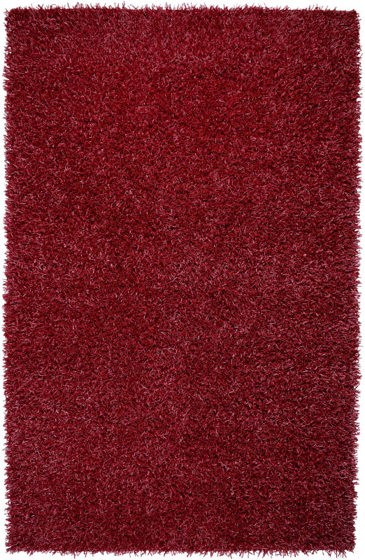 Rizzy Home KM2310 Kempton Hand-Tufted Polyester Rug Lipstick Red 5 x 7