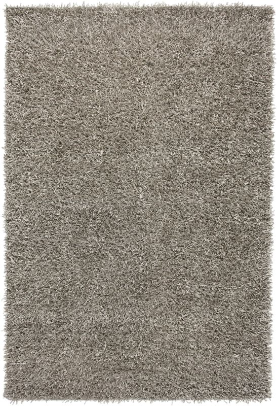 Rizzy Home KM2315 Kempton Hand-Tufted Polyester Rug Silver 3 1/2 x 5