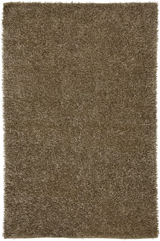 Rizzy Home KM2318 Kempton Hand-Tufted Polyester Rug Tan 6 x 9 Home