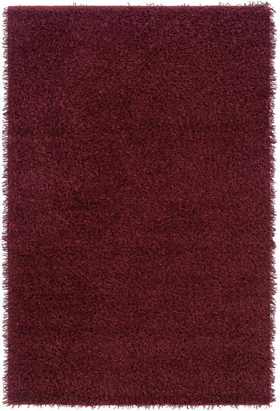 Rizzy Home KM2320 Kempton Hand-Tufted Polyester Rug Burgundy 8 x 10