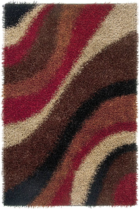Rizzy Home KM2322 Kempton Hand-Tufted Polyester Rug Multi 8 x 10 Home