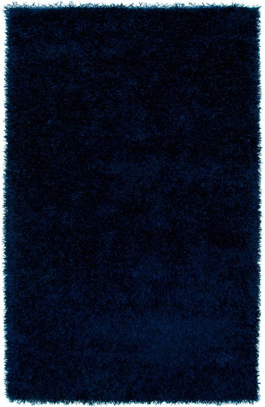 Rizzy Home KM2443 Kempton Hand-Tufted Polyester Rug Blue 5 x 7 Home