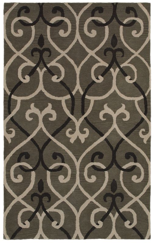 Rizzy Home OP8118 Opus Hand-Tufted Wool Rug Gray 8 x 10 Home Decor Sale $669.00 ITEM: bci2616744 ID#:OPUOP811800330810 UPC: 844353839883 :
