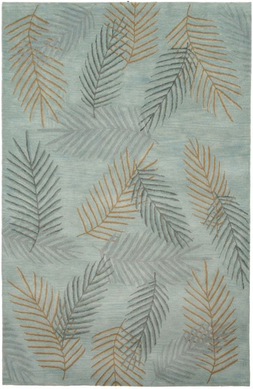 Rizzy Home PR0205 Pandora Hand-Tufted New Zealand Wool Rug Light Blue Sale $1265.00 ITEM: bci2618466 ID#:PANPR020500430912 UPC: 844353166262 :