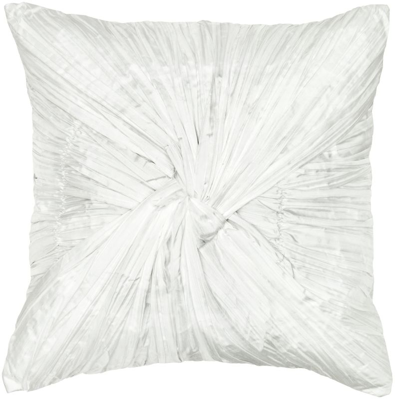 "Rizzy Home T04522 18"" x 18"" Pillow with Hidden Zipper and Polyester"