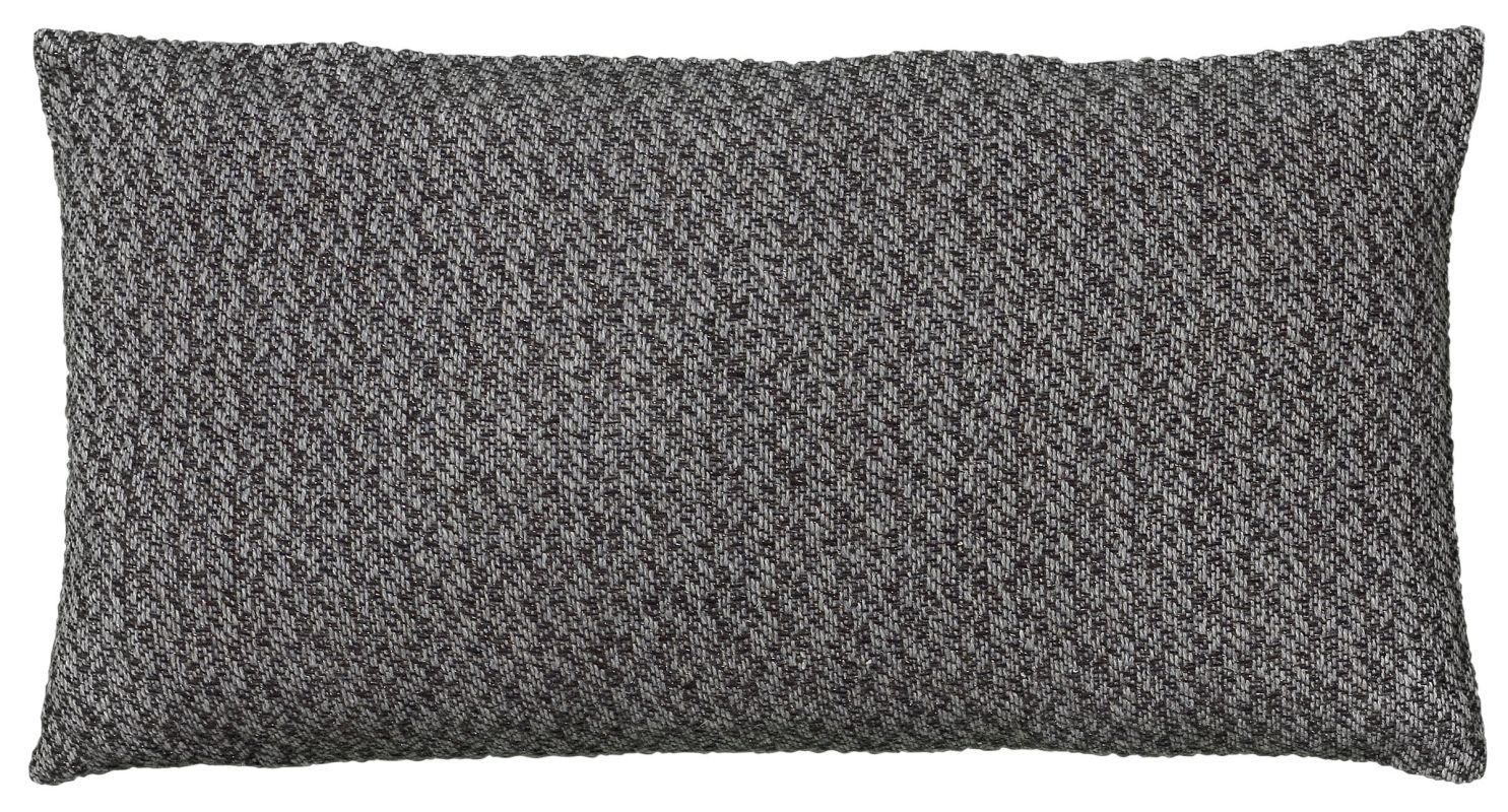 "Rizzy Home T05787 11"" x 21"" Pillow with Hidden Zipper and Polyester"