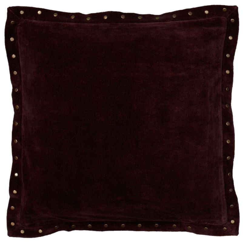 Rizzy Home T05967 18&quote x 18&quote Pillow with Hidden Zipper and Polyester