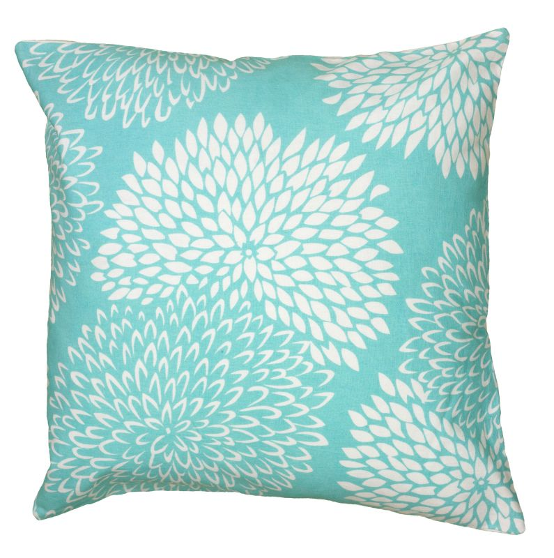 "Rizzy Home T06226 18"" x 18"" Pillow with Hidden Zipper and Polyester"