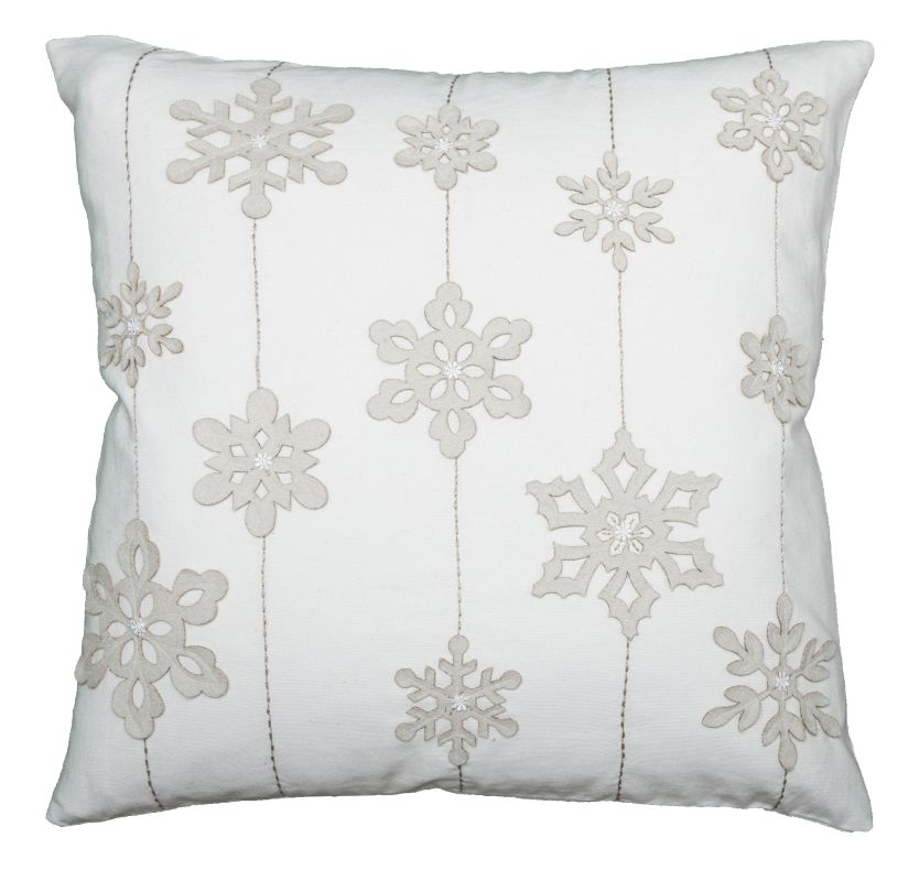 Rizzy Home T08606 20&quote x 20&quote Pillow with Hidden Zipper and Polyester