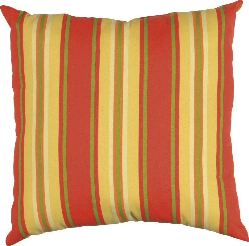 "Rizzy Home TFV003 22"" x 22"" Decorative Outdoor Pillow and Polyester"