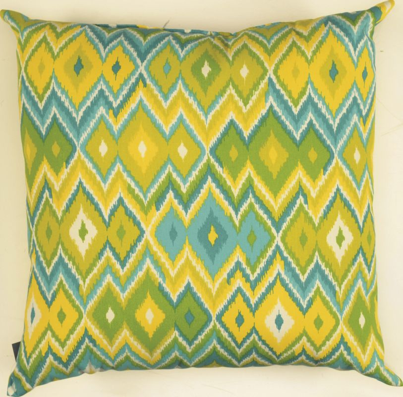 "Rizzy Home TFV010 22"" x 22"" Decorative Outdoor Pillow and Polyester"