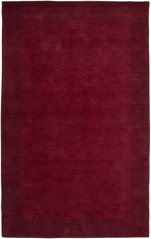 Rizzy Home PL0866 Platoon Hand Loomed New Zealand Wool Rug Red 8 x 10