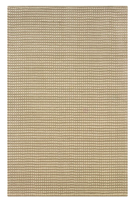 Rizzy Home PL1011 Platoon Hand Loomed New Zealand Wool Rug Beige 3 x 5