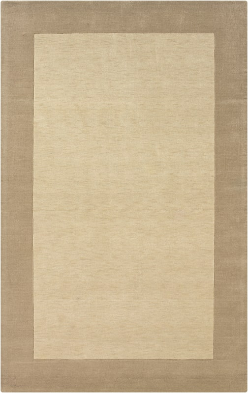 Rizzy Home PL1014 Platoon Hand Loomed New Zealand Wool Rug Light Beige