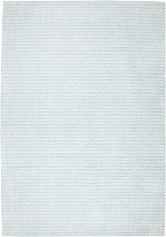 Rizzy Home PL1333 Platoon Hand Loomed New Zealand Wool Rug Light Blue