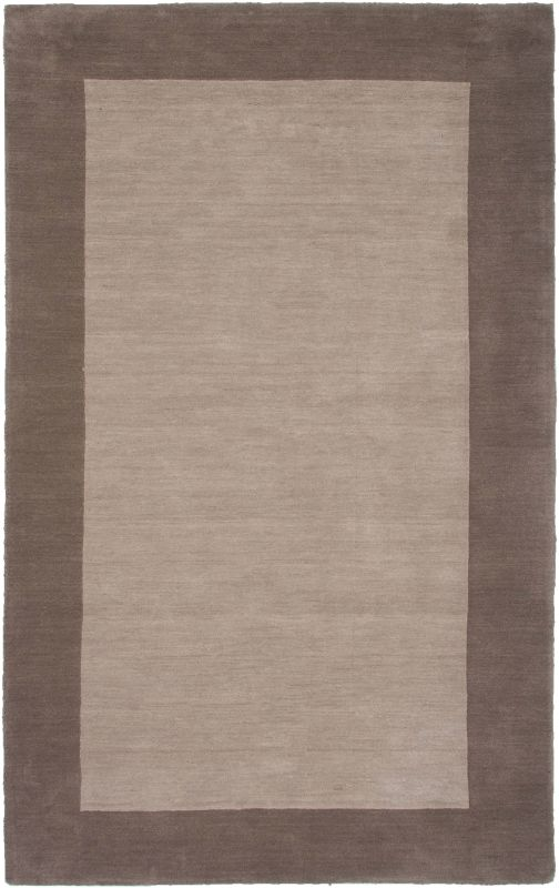 Rizzy Home PL2847 Platoon Hand Loomed New Zealand Wool Rug Light Brown